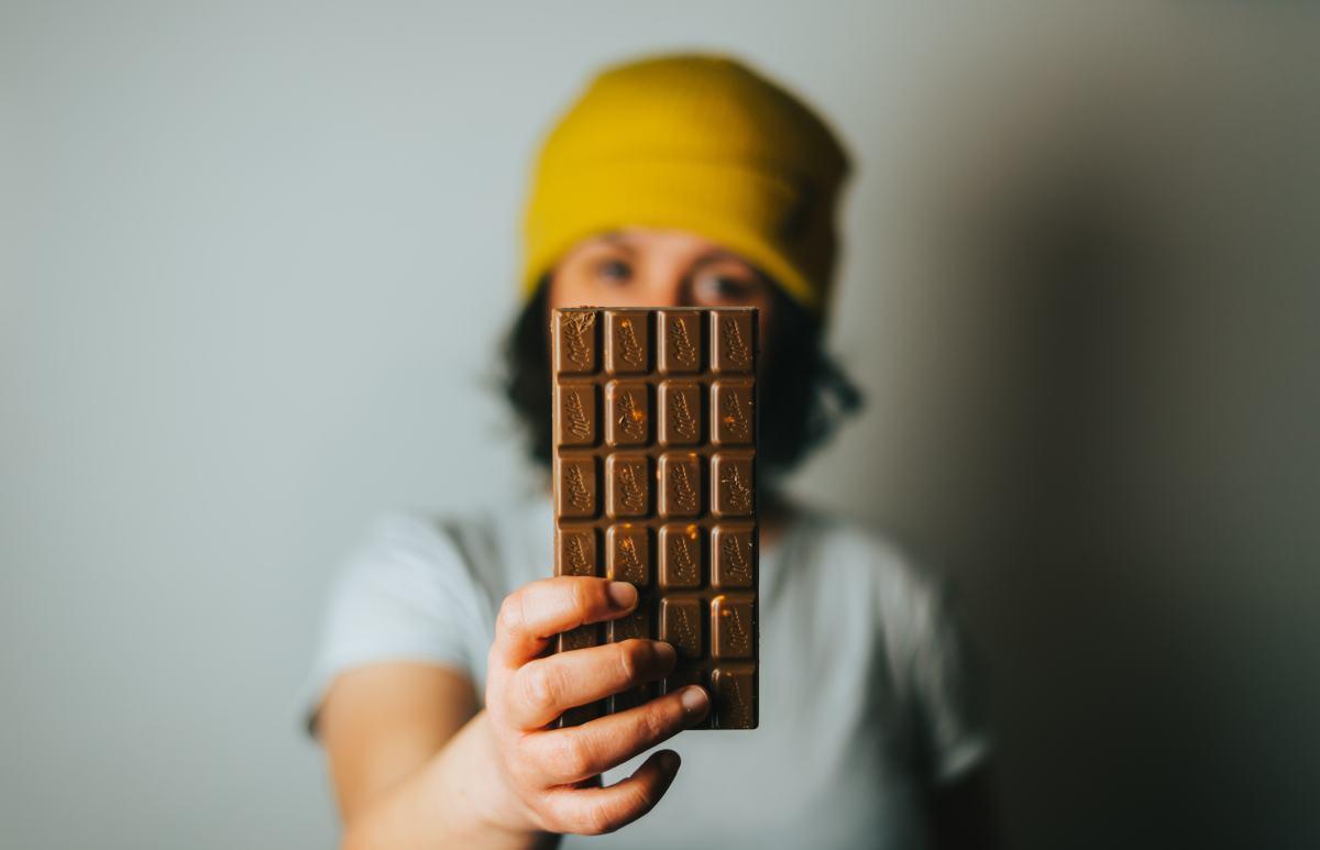 czekoladki firmowe z logo